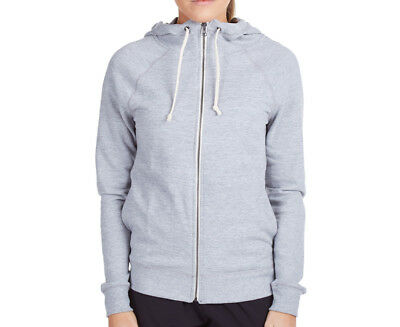 Champion Women's French Terry Full Zip Hoodie - Oxford Heather