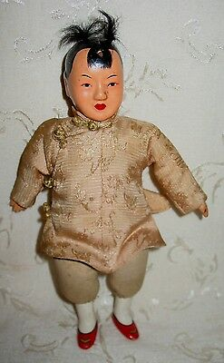 Rare Antique Male Chinese Doll
