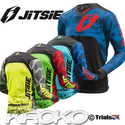 Jitsie Adult T3 KROKO High Spec Trials Riding Shirt