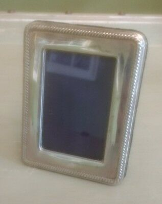 Small Solid hallmarked silver photo picture frame