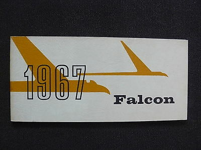 FORD 1967 Falcon - US-Betriebsanleitung / operation manual 08.1966