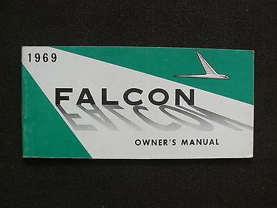FORD 1969 Falcon - US-Betriebsanleitung / Owner's Manual 07.1968