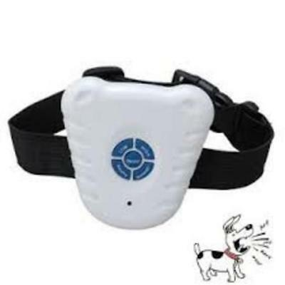 Small Ultrasonic Anti Bark Control Collar Stop Barking No Pain Dog Training UK