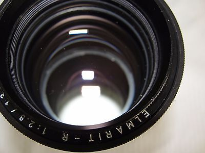 Rare-Near Mint. Leica Leitz Wetzlar Elmarit-R 135mm F:2.8 Lens Made In Germany.