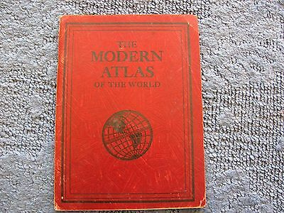 Vintage Rand McNally Modern Atlas Of The World Concise Maps 32 pgs Paperback