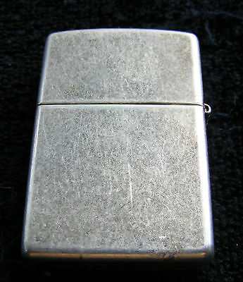 Vintage Silver Zippo Lighter Made in USA