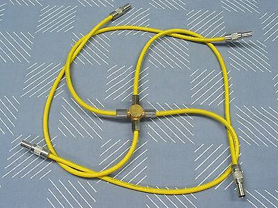 Trompeter Parallel Triax Patch Cord Cables P/N PTRS-18-50  (fan-out, splitter)