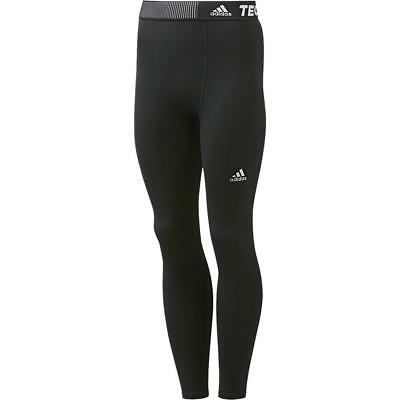 adidas Men's CLIMALITE Techfit Base Tights Training Long Compression Black Pants