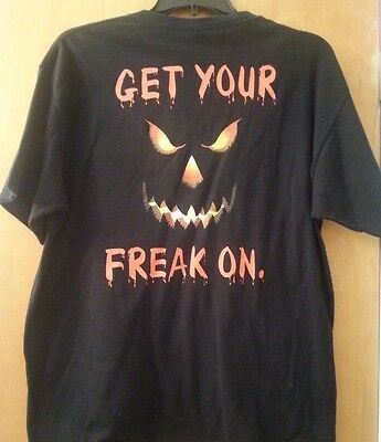 Get Your Freak On Las Vegas Treasure Island T~Shirt Black Size Xl 100% Cotton