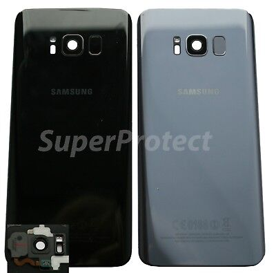 Genuine Samsung S8 Plus G955 Rear Back Glass Battery Camera LENS Panel cover