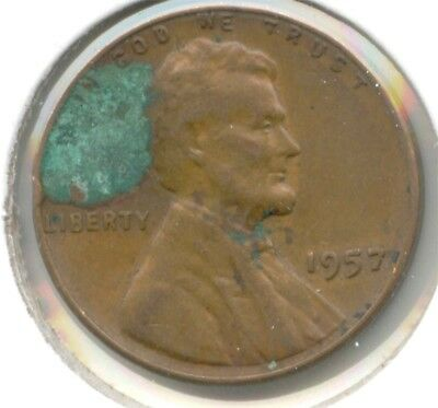 USA 1957 PENNY 1c One Cent American Lincoln Wheat