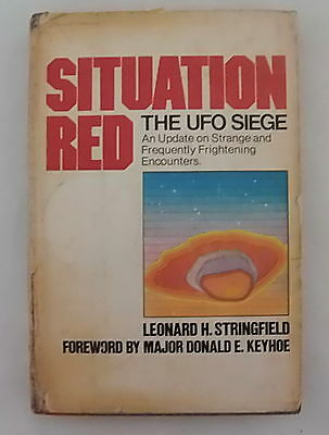 Situation Red The UFO Siege - Leonard H. Stringfield - 1977 -  1st Edition - HB