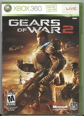 Video Game - XBOX 360 GEARS OF WAR 2 Complete