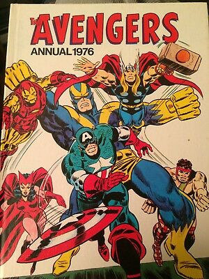 The Avengers Annual 1976
