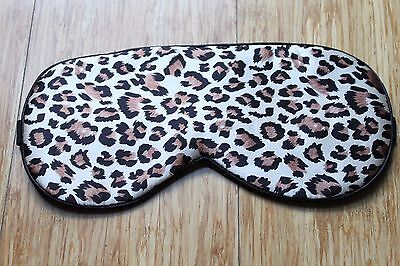 100% Pure Silk Sleep Eye Mask Soft Padded Shade Cover Travel Relax Aid Blindfold
