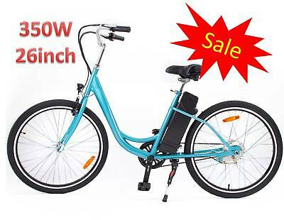 350W 26in Yukon Trail Electric Bike Powered Bicycle Assembly in US 2019 Model