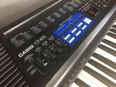 Casio Ct-655 Electric Keyboard Pulse Code Modulation 61 Keys Works