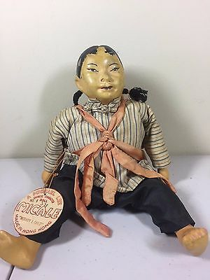 Vintage Michael Lee 'Mother & Child' No. 8 Micale Doll Hong Kong