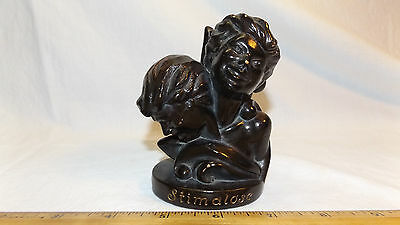 1954  SEBASTIAN MINIATURE STATUE Drug Advertising STIMALOSE Irvin Neisler Drug
