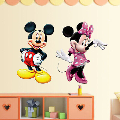 Mickey Mouse Vintage Retro Old Funny Wall Sticker Room