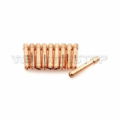 """13N21 TIG welding Torch Collet 0.40"""" 1.0mm fit WP-9 WP-20 WP-25 Qty-10"""