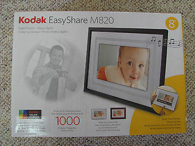 "Kodak Easyshare M820 8"" Digital Picture Frame Used Once"