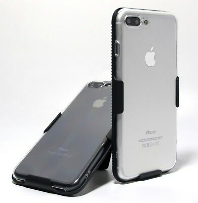 SLIM CLEAR CASE + BELT CLIP HOLSTER for iPhone 8  8 Plus iPhone XS X XS Max XR