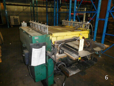 """6 Stand 31"""" Rollspace  2"""" Shaft Yoder Roll Former Sheet Metal Rollforming"""