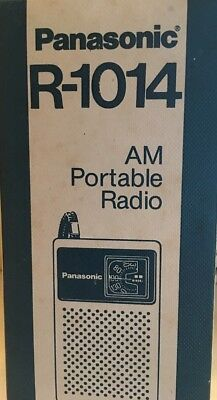 Vintage New In Box Panasonic AM Portable Radio R-1014