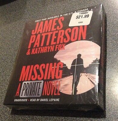 Private: Missing by Kathryn Fox and James Patterson (2016, CD, Unabridged) New