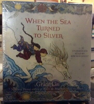 When the Sea Turned to Silver by Grace Lin Unabridged CD Audiobook New