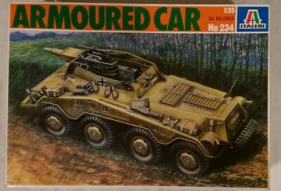 1/35 Scale Italeri German skdfz 234/3 Armoured Car