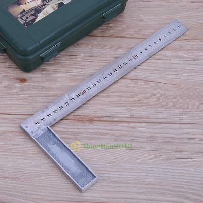 Metal Steel Engineers Machinist Try Square Set Right Angle Measure Woodworking