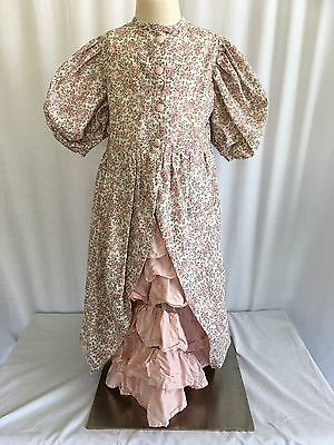 Vintage Prairie Style Holly Hobbie Floral Girls Dress