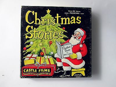 Christmas Stories- 807 The Night Before Christmas 8mm Film Castle Films RARE