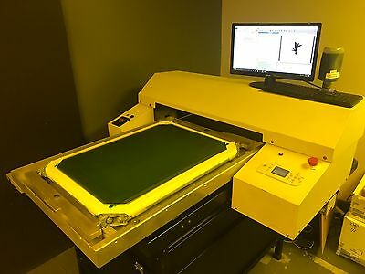 CTS with Exposure Unit - screen printing equipment