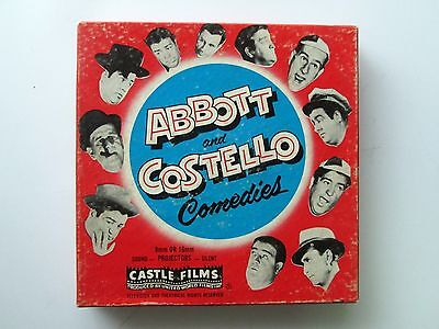 Abbott and Costello 8mm Film 818 High Flyers RARE
