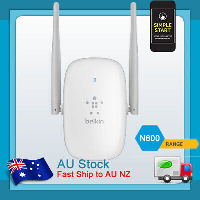 Belkin Dual Band 2.4/5GHz WiFi Wireless Range Extender Repeater Router F9K1122