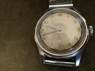 WW2 Omega Suveran 1944 military issue 30t2 watch