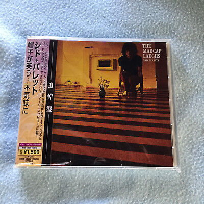 "Syd Barrett ""the Madcap Laughs"" And ""barrett"" Cd Japan Press Obi"