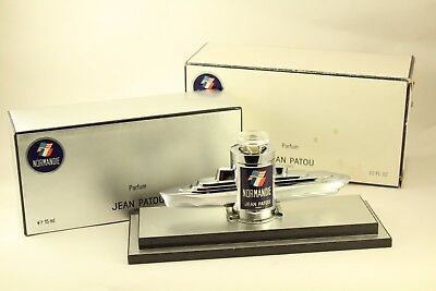 Vintage 1985 French Line SS Normandie Bottle-in-a-Boat Jean Patou Perfume Ltd Ed