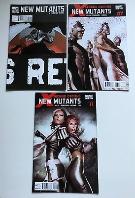 The New Mutants #12 3rd Print Variant + 13 14 Second Coming Lot of 3, Marvel