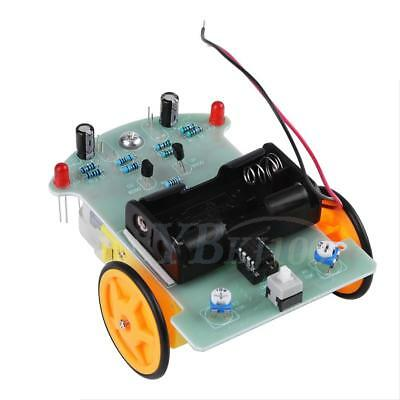 Smart Car Tracking Robot Car Chassis DIY Kit Reduction Motor For Arduino coi