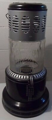 Perfection Kerosene Heater 1710 Pyrex Glass body --Ready to use -- Deluxe model