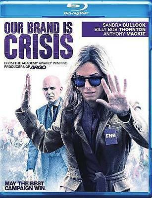 Our Brand is Crisis NEW Blu-ray disc/case/cover only-no digital 2016 Bullock
