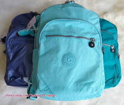 New w Tag Kipling Seoul Small Backpack with furry monkey