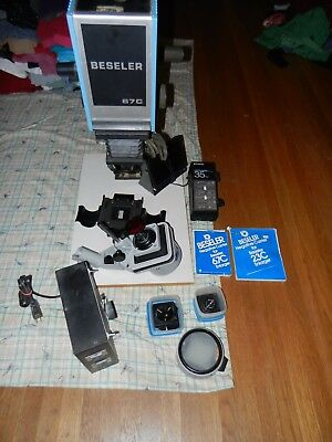 "Nice EUC Beseler 67c ""XL"" enlarger PLUS PHOTO PAPER FOR 50.00 MORE"