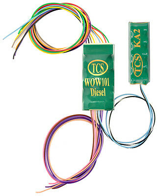 DCC decoder TCS WOW101-KA Diesel Sound Decoder with Keep Alive HO Scale