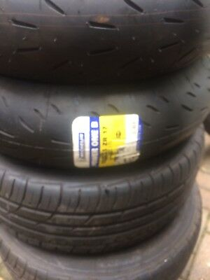 180 55 17 73w Michelin power one (B compound)2ct track/fast road tyre.