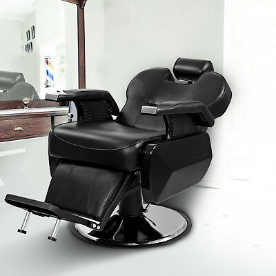 Hydraulic Barber Chair Recline Swivel Salon Beauty Tattoo Hairdressing Shaving